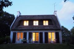 Abendstimmung Haus