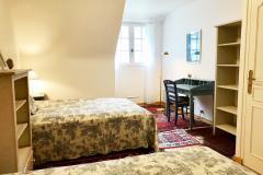 Schlafzimmer 2 mit zwei Doppelbetten