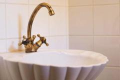 Waschbecken WC Erdgeschoss
